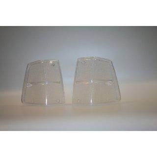 Treser Frontblinker-Glas Schwarz passend für Porsche 911 G-Modell Mod./'74-/'88