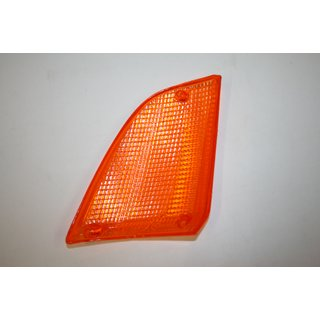 Frontblinker-Glas LINKS orange passend für BMW 7er E23 Mod.84->